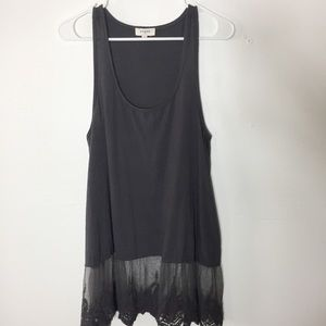 Umgee York RacerBack  Lace Oversized Dress B5
